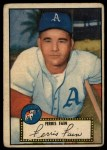 1952 Topps #21 RED  Ferris Fain Front Thumbnail