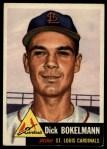 1953 Topps #204  Dick Bokelmann  Front Thumbnail