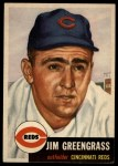 1953 Topps #209  Jim Greengrass  Front Thumbnail