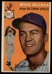 1954 Topps #152   Mike Blyzka Front Thumbnail