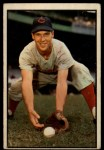 1953 Bowman #108   Bobby Adams Front Thumbnail