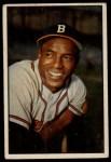 1953 Bowman #3   Sam Jethroe Front Thumbnail