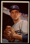 1953 #12  Carl Erskine  Front Thumbnail