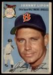 1954 Topps #19  John Lipon  Front Thumbnail