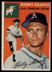 1954 Topps #21   Bobby Shantz Front Thumbnail
