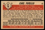 1953 Bowman #78  Carl Furillo  Back Thumbnail
