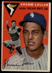 1954 Topps #39   Sherm Lollar Front Thumbnail