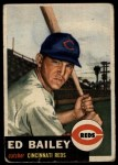1953 Topps #206  Ed Bailey  Front Thumbnail