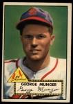 1952 Topps #115  Red Munger  Front Thumbnail