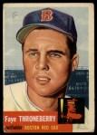 1953 Topps #49   Faye Throneberry Front Thumbnail