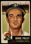 1953 Topps #83   Howie Pollet Front Thumbnail