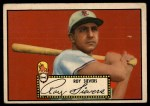 1952 Topps #64 BLK  Roy Sievers Front Thumbnail