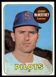 1969 Topps #534  Jerry McNertney  Front Thumbnail