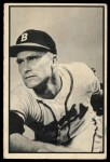1953 Bowman Black and White #51   Lew Burdette Front Thumbnail
