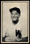 1953 Bowman Black and White #46   Bucky Harris Front Thumbnail