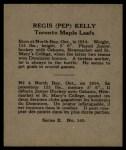1937 O-Pee-Chee #145   Pep Kelly Back Thumbnail