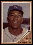 1962 Topps #108   Willie Davis Front Thumbnail