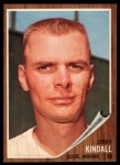 1962 Topps #292  Jerry Kindall  Front Thumbnail