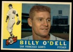 1960 Topps #303   Billy O'Dell Front Thumbnail