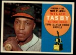 1960 Topps #322   Willie Tasby Front Thumbnail