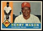 1960 Topps #331   Henry Mason Front Thumbnail