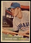 1957 Topps #289   Jim Bolger Front Thumbnail