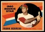 1960 Topps #130  Rookie Stars  -  Frank Herrera Front Thumbnail