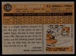 1960 Topps #135  Rookies  -  Ken Johnson Back Thumbnail