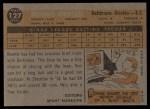 1960 Topps #127  Rookie Stars  -  Ron Hansen Back Thumbnail