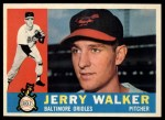 1960 Topps #540   Jerry Walker Front Thumbnail