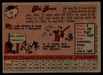 1958 Topps #60 YN  Del Ennis Back Thumbnail