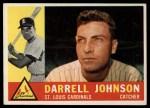 1960 Topps #263  Darrell Johnson  Front Thumbnail