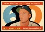 1960 Topps #561  All-Star  -  Al Kaline Front Thumbnail