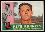 1960 #15  Pete Runnels  Front Thumbnail