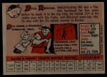 1958 Topps #473   Bill Renna Back Thumbnail