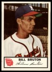 1953 Johnston Cookies #22  Bill Bruton   Front Thumbnail