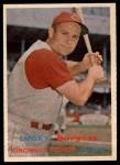 1957 Topps #228  Smoky Burgess  Front Thumbnail