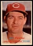 1957 Topps #233   Art Fowler Front Thumbnail