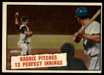 1961 Topps #410  Haddix Pitches 12 Perfect Innings  -  Harvey Haddix Front Thumbnail