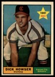 1961 Topps #416  Dick Howser  Front Thumbnail