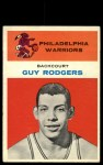 1961 Fleer #37   Guy Rodgers Front Thumbnail