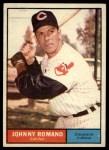 1961 Topps #5   John Romano Front Thumbnail